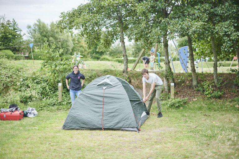 Tent field - De Lombarde